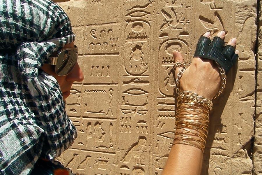 Гітарист Flame: Нескінченність в пустелі Єгипту